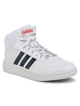 adidas adidas Chaussures Hoops 2.0 Mid FW4478 Blanc
