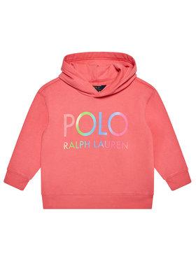 Polo Ralph Lauren Polo Ralph Lauren Majica dugih rukava Ls Hoodie 311841397001 Ružičasta Regular Fit