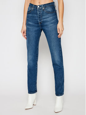 Levi's® Levi's® Džinsai 501® Crop 36200-0157 Mėlyna Cropped Fit