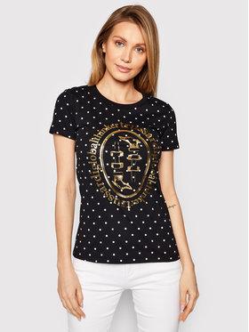 Trussardi Trussardi T-Shirt 56T00387 Černá Slim Fit