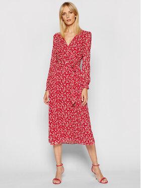 Lauren Ralph Lauren Lauren Ralph Lauren Ежедневна рокля 250825370001 Червен Regular Fit