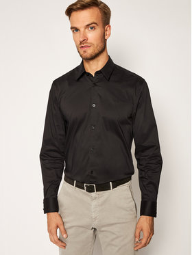 Guess Guess Camicia Ls Sunset M0BH20 W7ZK0 Nero Slim Fit
