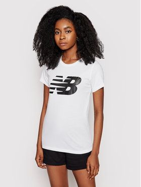 New Balance New Balance Tricou Classic Flying Nb Graphic WT03816 Alb Athletic Fit