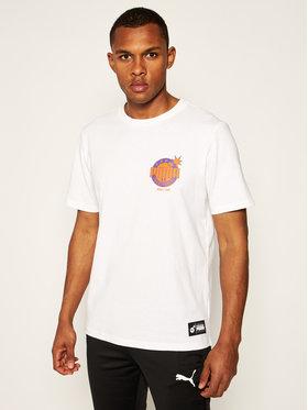 Puma Puma T-Shirt THE HUNDREDS Tee 596750 Weiß Regular Fit
