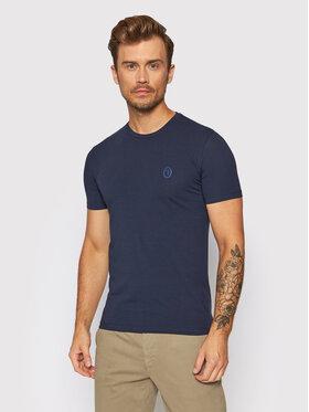 Trussardi Trussardi T-Shirt 52T00535 Tmavomodrá Slim Fit