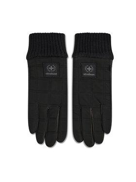 Strellson Strellson Pánske rukavice 3189 Čierna