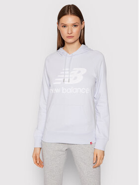 New Balance New Balance Bluza Essential WT03550 Fioletowy Relaxed Fit