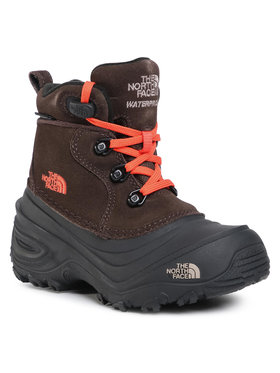 The North Face The North Face Cizme de zăpadă Youth Chilkat Lace II NF0A2T5RV6M Maro