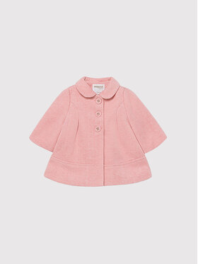 Mayoral Mayoral Cappotto di transizione 2402 Rosa Regular Fit