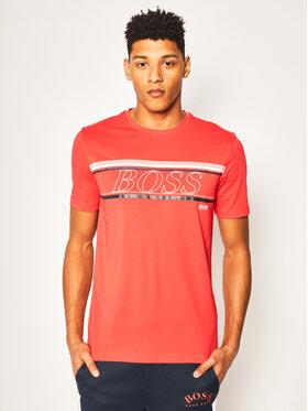 Boss Boss T-shirt Teeap 50424056 Rouge Regular Fit