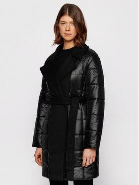 Boss Boss Žieminis paltas Paxida 50443658 Juoda Regular Fit