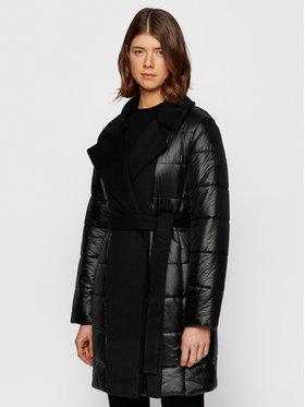 Boss Boss Зимно палто Paxida 50443658 Черен Regular Fit