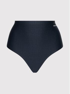 Tommy Hilfiger Tommy Hilfiger Klasické nohavičky s vysokým pásom Hw Hipster Curve UW0UW03048 Tmavomodrá