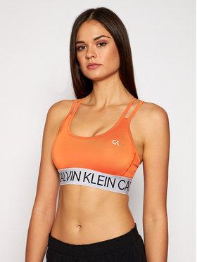 Calvin Klein Performance Calvin Klein Performance Podprsenkový top Low 00GWF0K101 Oranžová