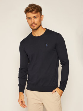 Polo Ralph Lauren Polo Ralph Lauren Pullover Ls Sf Cn Pp 710684957001 Dunkelblau Slim Fit