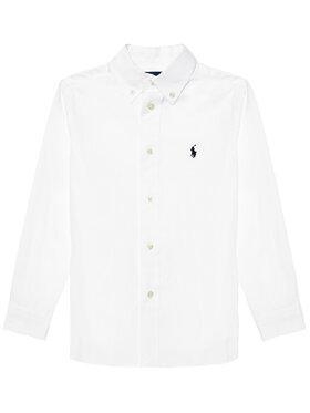 Polo Ralph Lauren Polo Ralph Lauren Πουκάμισο 323819238001 Λευκό Slim Fit