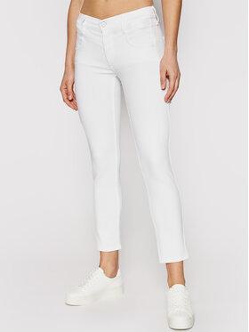 Calvin Klein Calvin Klein Džinsai Ankle K20K202836 Balta Slim Fit