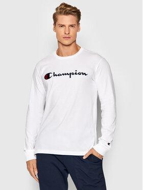 Champion Champion Longsleeve High 216474 Biały Comfort Fit