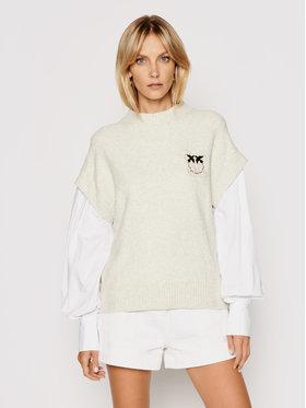 Pinko Pinko Sweater Anatomia 1N1379 Y7MD Bézs Regular Fit