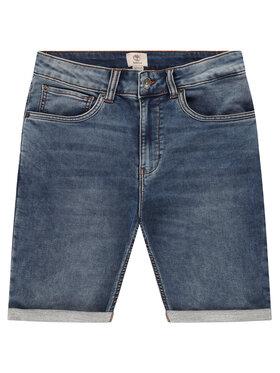 Timberland Timberland Pantaloni scurți de blugi T24A90 D Bleumarin Regular Fit
