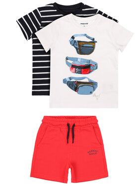 "Mayoral Mayoral ""Completo 2 T-shirt e pantaloncini"" 3624 Multicolore Regular Fit"