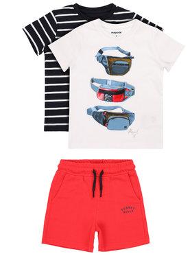 Mayoral Mayoral Σετ 2 t-shirts και παντελόνι 3624 Έγχρωμο Regular Fit