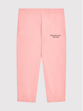 Calvin Klein Jeans Calvin Klein Jeans Παντελόνι φόρμας Mini Monogram IG0IG01003 Ροζ Regular Fit