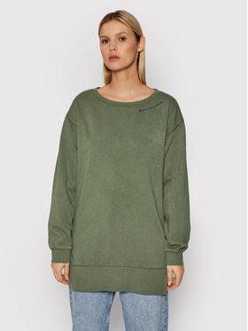 Roxy Roxy Sweatshirt Meeting Up ERJKD03380 Vert Relaxed Fit