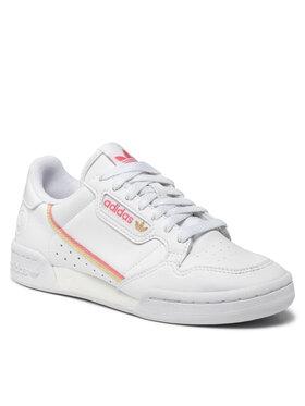 adidas adidas Pantofi Continetal 80 Vegan W H05315 Alb