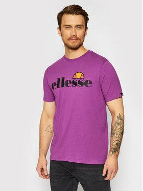 Ellesse Ellesse T-shirt Sl Prado Tee SHI07405 Ljubičasta Regular Fit