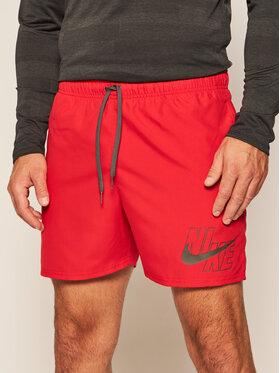 Nike Nike Plaukimo šortai Logo Lap 5 NESSA566 Raudona Standard Fit
