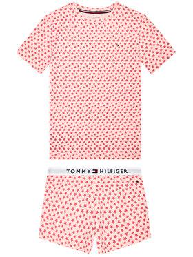 Tommy Hilfiger Tommy Hilfiger Pižama Set Print UG0UG00362 Rožinė