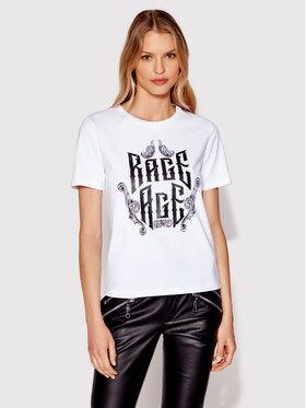 Rage Age Rage Age T-shirt Eudoxa 2 Blanc Regular Fit