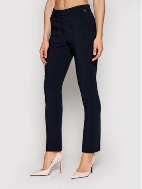 Tommy Hilfiger Tommy Hilfiger Pantaloni di tessuto Core Suiting WW0WW29541 Blu scuro Slim Fit