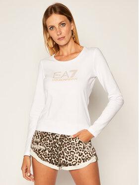 EA7 Emporio Armani EA7 Emporio Armani Chemisier 6HTT02 TJ2HZ 1100 Blanc Slim Fit