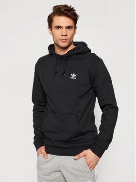 adidas adidas Bluza Essential Hoody FM9956 Czarny Standard Fit