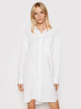Marc O'Polo Marc O'Polo Sukienka koszulowa 104 0645 21211 Biały Regular Fit