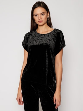 DKNY DKNY Μπλουζάκι P0JA5GED Μαύρο Regular Fit