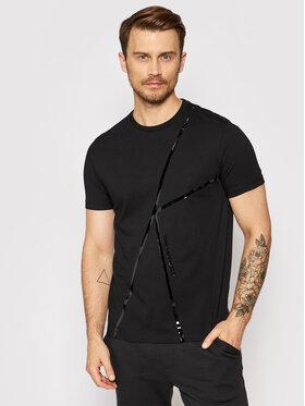 KARL LAGERFELD KARL LAGERFELD T-shirt 755037 511224 Crna Regular Fit