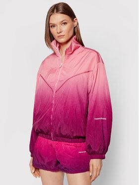 Calvin Klein Jeans Calvin Klein Jeans Prechodná bunda J20J216257 Ružová Regular Fit