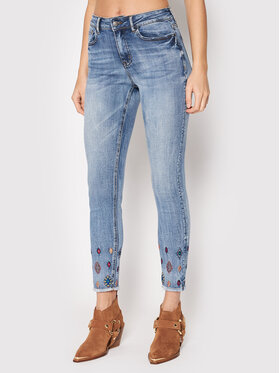 Desigual Desigual Jeans Mia 21WWDD22 Blau Skinny Fit