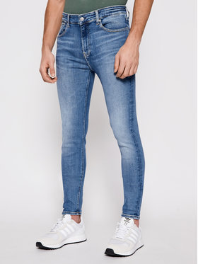 Calvin Klein Jeans Calvin Klein Jeans Džínsy J30J317793 Modrá Skinny Fit