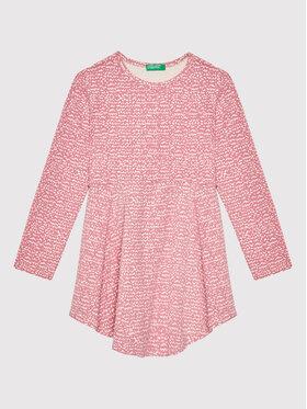 United Colors Of Benetton United Colors Of Benetton Φόρεμα καθημερινό 3O0ZF11SX Ροζ Regular Fit