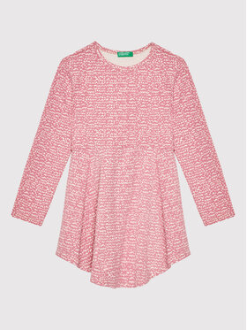 United Colors Of Benetton United Colors Of Benetton Robe de jour 3O0ZF11SX Rose Regular Fit
