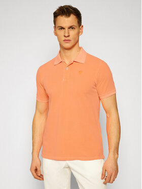 North Sails North Sails Polo Emproidery 692327 Pomarańczowy Regular Fit