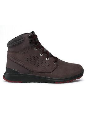 Salomon Salomon Παπούτσια πεζοπορίας Utility Winter Cs Wp 407975 28 V0 Καφέ