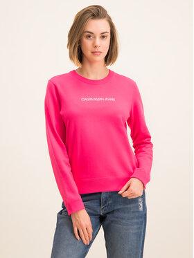 Calvin Klein Jeans Calvin Klein Jeans Mikina Institutional J20J212873 Růžová Regular Fit