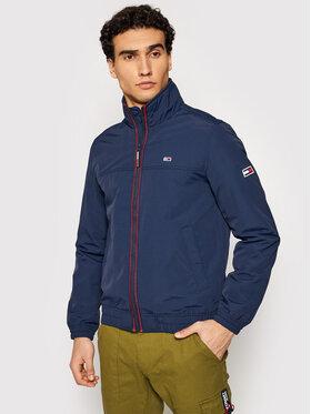 Tommy Jeans Tommy Jeans Átmeneti kabát Tjm Essential Casual DM0DM10061 Sötétkék Regular Fit