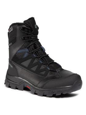 Salomon Salomon Παπούτσια πεζοπορίας Chalten Ts Cswp 409225 Μαύρο