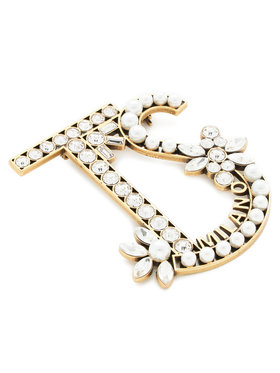 TwinSet TwinSet Broche Spilla 211TO5017 Or